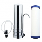 Counter Top Filter System with Ceramic Filter Removes Flourides
