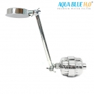 AQUA BLUE H20  SHOWER WATER FILTER & ROSE COMPLETE PACKAGE SF350ARM-A
