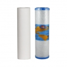 """Omnipure USA Twin Under Sink Replacement Water Filter Set 10"""""""