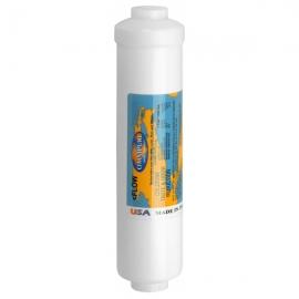 "Omnipure K2520 BB Inline Carbon Block Filter 1 Micron 1/4"" NPT"