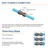 John Guest 12mm Tubing High Pressure Blue Caravan 10 Metres