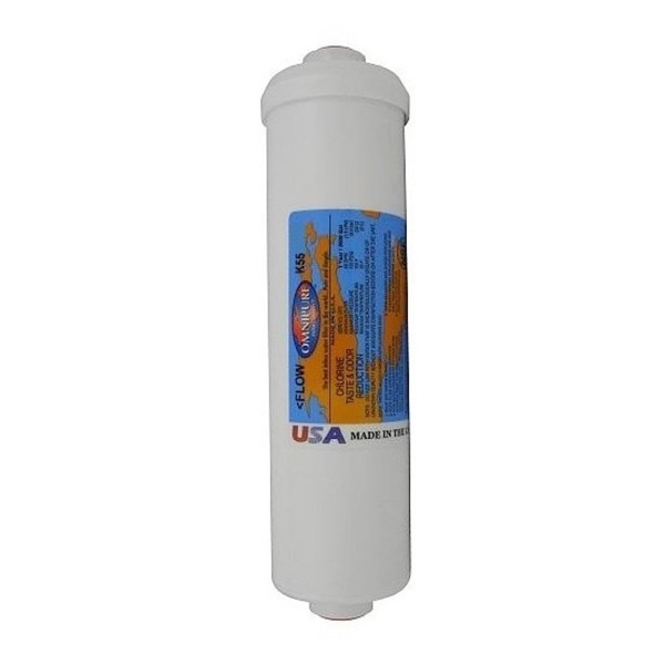 "Omnipure K5540 BB GAC Granular Carbon Water Filter 2.5"" x 10"""