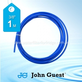 "John Guest 3/8"" Hose Tubing High Pressure Blue 1 Metre"
