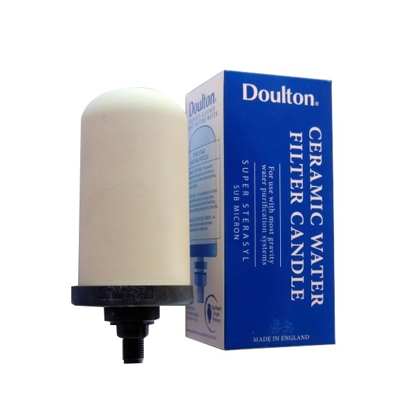 """Doulton Super Sterasyl Imperial Ceramic Candle Filter 5"""" W9121001"""