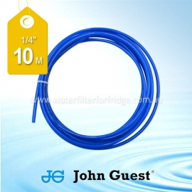 "John Guest 1/4"" Hose Tubing High Pressure Blue 10 Metre"