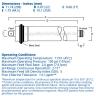 Dow Filmtec Reverse Osmosis Membrane 24 GPD TW30-1812-24