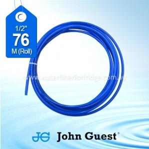 "John Guest 1/2"" Hose Tubing High Pressure Blue 76 Metre Roll"