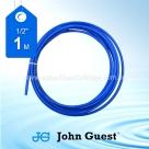 "John Guest 1/2"" Tubing High Pressure Blue 1 Metre"