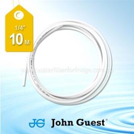 "John Guest 1/4"" Hose Tubing High Pressure White 10 Metre PE08500W"