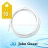 "John Guest 1/4"" Tubing High Pressure White 10 Metre"