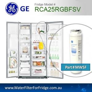 how to change fridge water filter ge