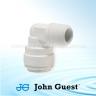 John Guest Polypropylene Fittings Rigid Elbow NPTF Thread PP480822W  1/4 x 1/4