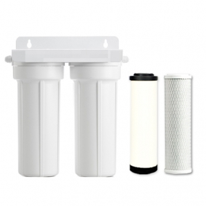 Caravan & RV Water Filter Twin Type with Omnipure & Doulton
