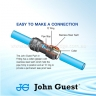 John Guest Polypropylene Fittings Equal Straight Connector PPM0408W 8MM
