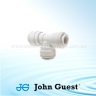 John Guest Polypropylene Fittings Equal Tee PP0208W  1/4""