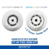 4x DA29-00020B or AquaBlue Fridge Filters for Samsung SRF801GDLS, SRF731GDLS
