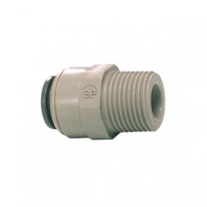 John Guest Grey Acetal Fittngs Straight Adaptor – BSPT Thread  PI011603S  1/2 x 3/8