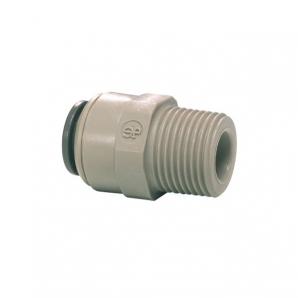 John Guest Grey Acetal Fittngs Straight Adaptor NPTF Thread  PM010421S  5/32 x 1/8