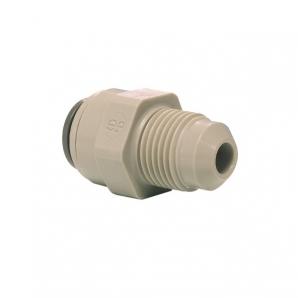 John Guest Grey Acetal Fittngs Straight Adaptor MFL Thread  PI0116F8S  1/2 x 1/2
