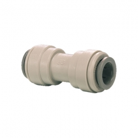 """John Guest Grey Acetal Fittngs Equal Straight Connector  PI0408S  CI0408W 1/4"""""""