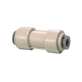 John Guest Grey Acetal Fittngs Reducing Straight Connector PI201208S  3/8 - 1/4