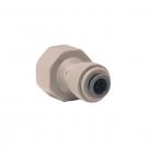 John Guest Grey Acetal Fittngs Female Adaptor BSP Thread Flat End PI451214FS  3/8 x 1/2