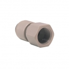 John Guest Grey Acetal Fittngs Female Adaptor British Whitworth Thread PI4512E6S  3/8 x 9/16