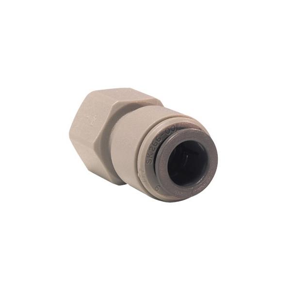 John Guest Grey Acetal Fittngs Female Adaptor FFL Thread PM4508F4S  5/16 x 1/4