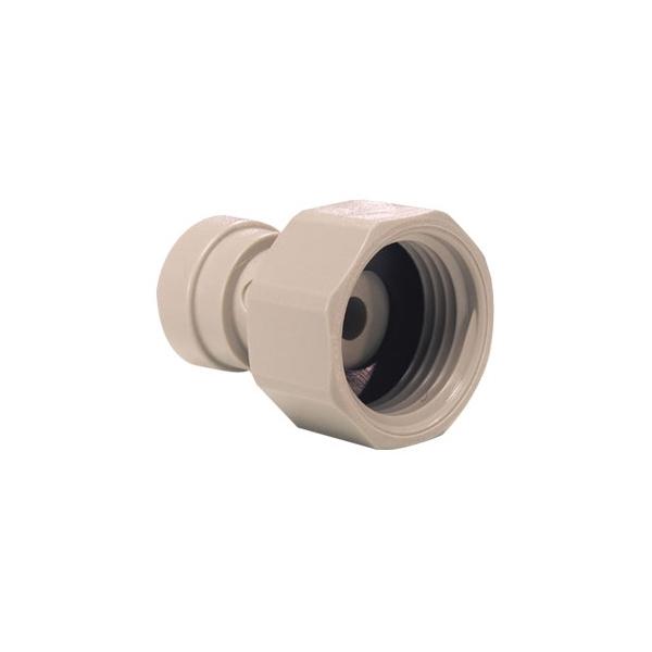 John Guest Grey Acetal Fittngs Tap Adaptor BSP Thread CI321214S  3/8 x 1/2