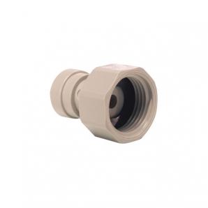 John Guest Grey Acetal Fittngs Tap Adaptor BSP Thread CI321216S  3/8 x 3/4