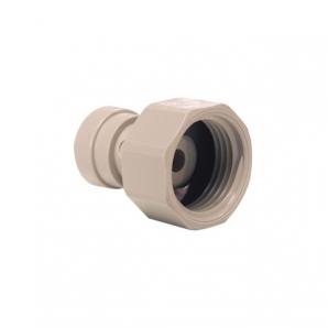 John Guest Grey Acetal Fittngs Tap Adaptor BSP Thread Flat End CI320816FS  1/4 x 3/4
