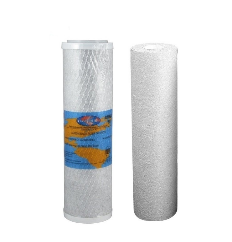 Replacement filters for  Twin Under Sink System