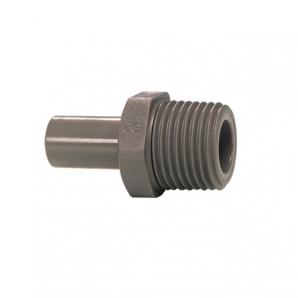John Guest Grey Acetal Fittngs Stem Adaptor NPTF Thread PI050621S  3/16 x 1/8