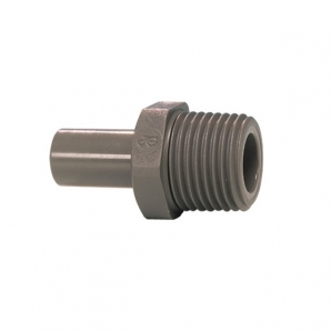 John Guest Grey Acetal Fittngs Stem Adaptor NPTF Thread PM050821S  5/16 x 1/8