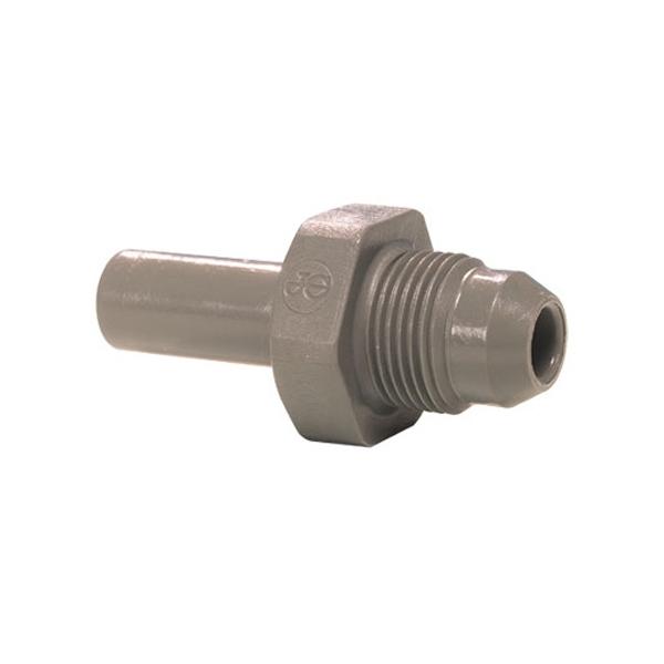John Guest Grey Acetal Fittngs Stem Adaptor British Nipple Type PM0508E6S 5/16 x 9/16