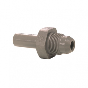 John Guest Grey Acetal Fittngs Stem Adaptor British Nipple Type PI0512E6S  3/8 x 9/16