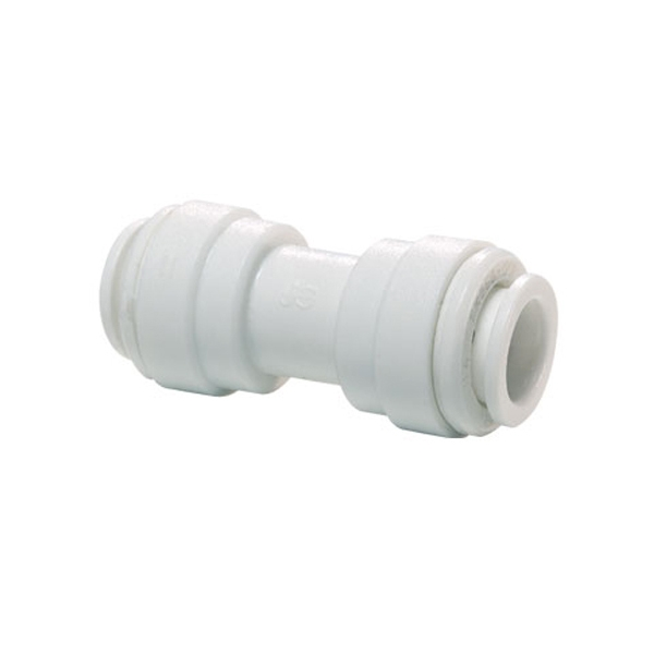 """John Guest White Acetal Fittings Equal Straight Connector CI0412W Tube OD 3/8"""""""