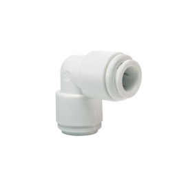 """John Guest White Acetal Fittings Equal Elbow CI0308W 1/4"""""""