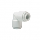 "John Guest White Acetal Fittings Equal Elbow CI0308WB  1/4"" Blue Collet"