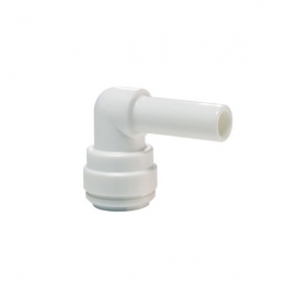 John Guest White Acetal Fittings Stem Elbow CI220808W  1/4 - 1/4