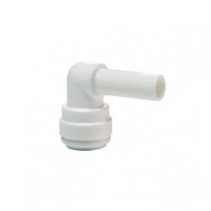 John Guest White Acetal Fittings Stem Elbow CI221212W  3/8 - 3/8