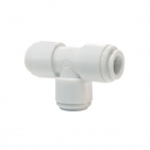 John Guest White Acetal Fittings Equal Tee CI0208W Tube OD 1/4""