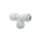 John Guest Polypropylene Fittings Equal Tee PP0212W 3/8""