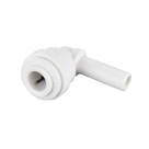John Guest Polypropylene Fittings Stem Elbow PP221208W 3/8 - 1/4