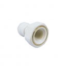 John Guest Polypropylene Fittings Female Adaptor NPTF Thread PP450822W  1/4 x 1/4