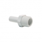 John Guest Polypropylene Fittings Stem Adaptor PP050822W 1/4 x 1/4