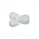 John Guest Polypropylene Fittings Unequal Divider PP241208W  3/8 - 1/4