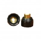 John Guest Brass Fittings Brass Polypropylene Female Connector BSPP Thread NC2145 1/4 x 3/4