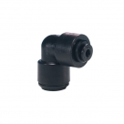 John Guest Black Acetal Fittings Reducing Elbow Connector PM211004E 10mm - 4mm