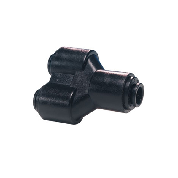 John Guest Black Acetal Fittings Two-way Divider PM2310E 10MM